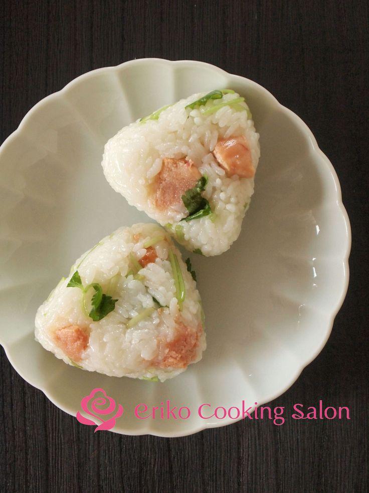 たらことみつばのオイルおにぎり by 神田依理子 | レシピサイト「Nadia | ナディア」プロの料理を無料で検索