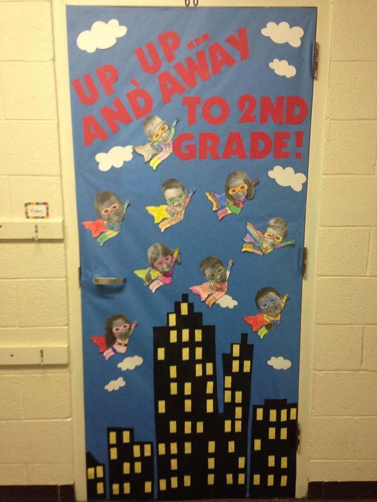 The 25 best ideas about superhero classroom door on for Idea door activity days