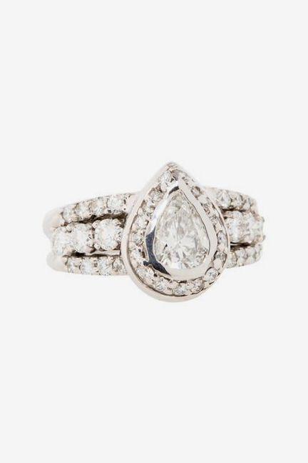 1.98ctw Pear Diamond Ring