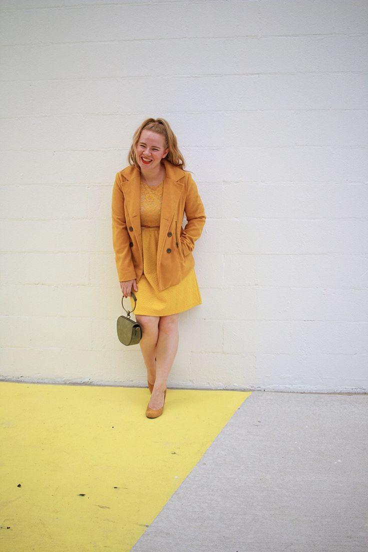 Tips To a Monochromatic Outfit | It's Pam Del | Houston Style Blogger |   Yellow Outfit | How to wear all one color | Monochromatic Outfit Yellow |   All Yellow Outfit | Monochromatic Style | Thrift Store Fashion | Thrift   Store Finds | Thrift Store Style