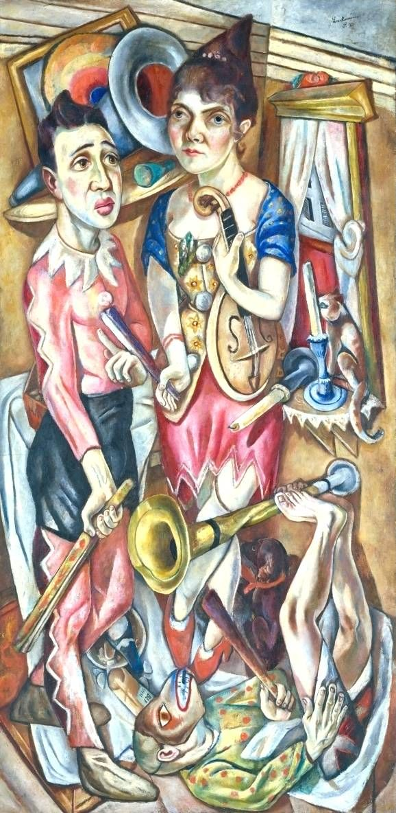 """Max Beckmann - """"Carnival"""" Discover the coolest shows in New York at www.artexperience..."""