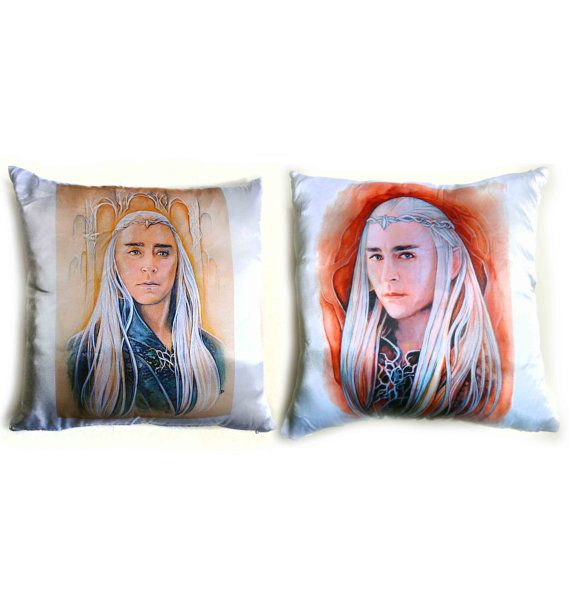 Pillow  King of Mirkwood cover  insert hobbit by JankaLart on Etsy