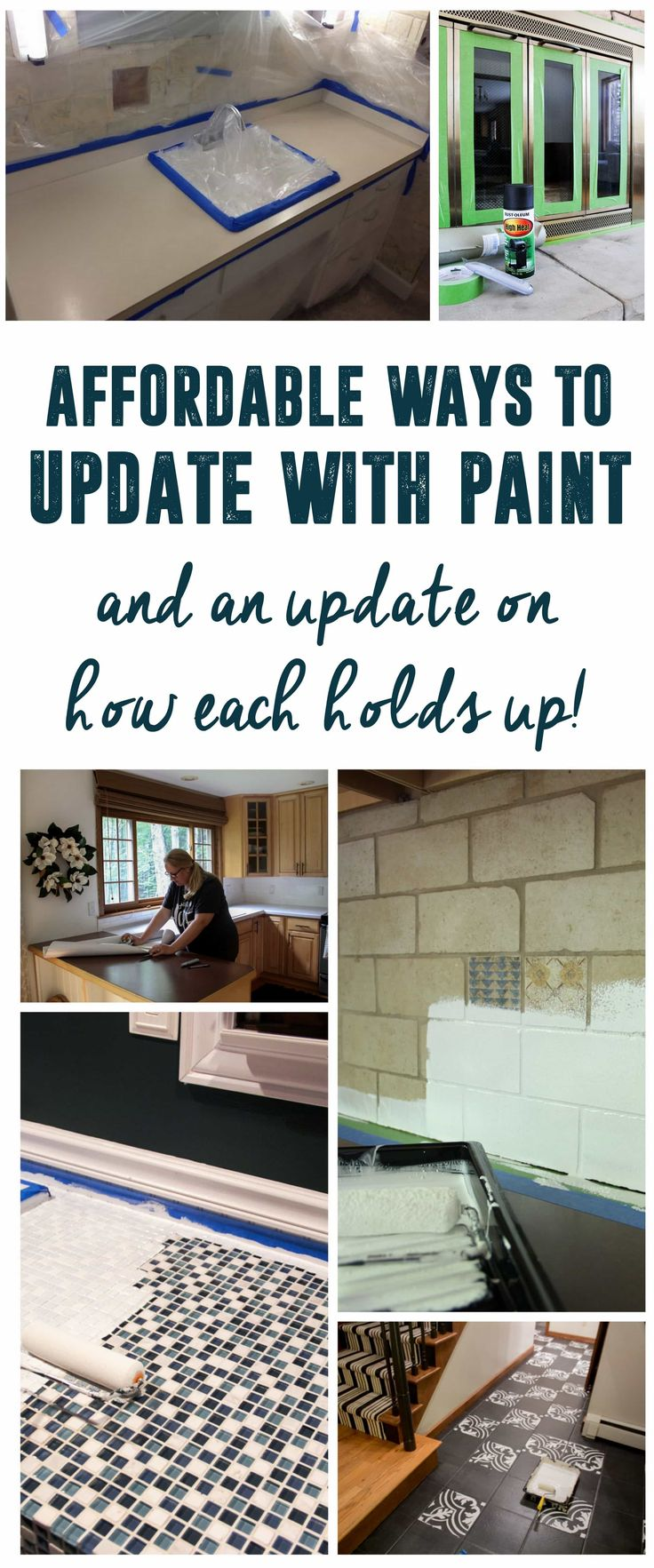 How's it Holding Up??? How is it holding Up, How did the counters hold up? How did the floors hold up? Affordable Ways to Update with Paint