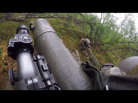 Norwegian Soldiers in Action • Shooting the M2 Carl Gustav, M320, M72 LAW