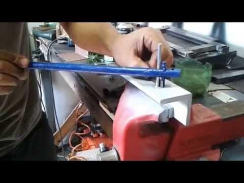 2 tipos de Dobradeira de chapa caseira JC Amador - YouTube