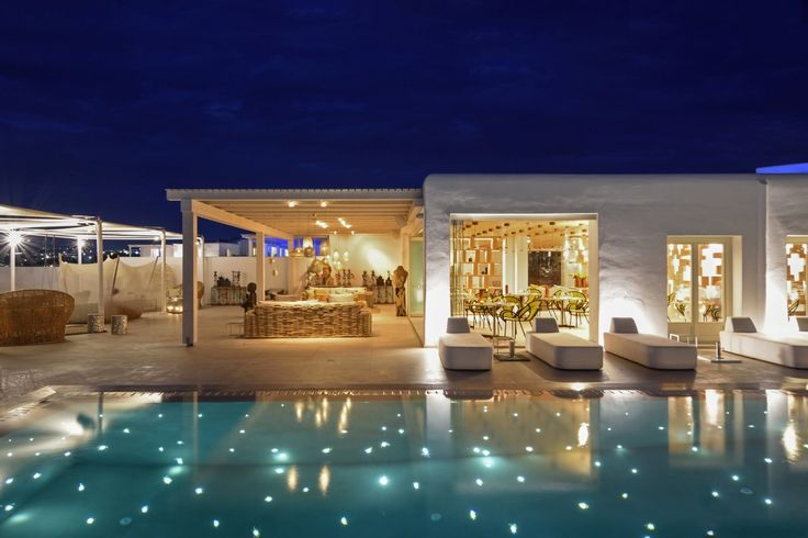 An amazing hotel where the stars shine brighter! #Experience #MyconianNaia #Mykonos  #Best