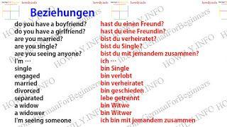 German for all Deutsch für alle: Familie