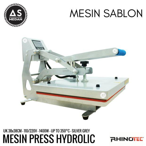 MESIN HOT PRESS HYDROLIC RHINOTEC