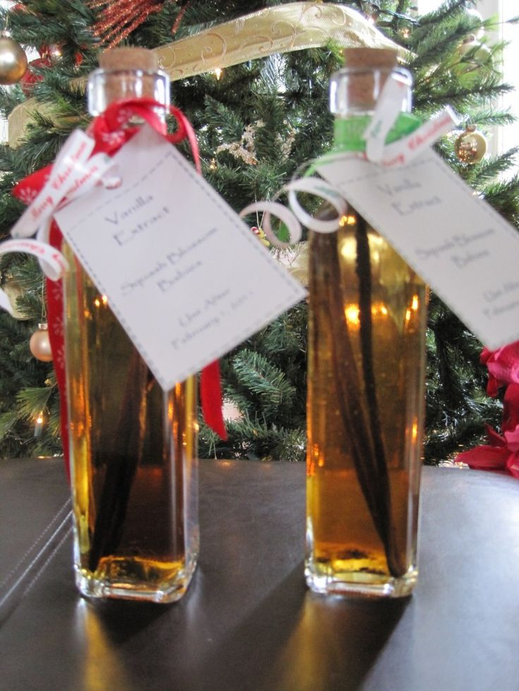 DIY Homemade Vanilla Extract!  Great Hostess Gift!