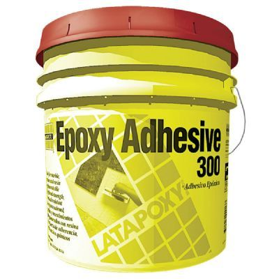 A high-strength, 3-part 100% solids epoxy adhesive formulated for chemical resistant installations of quarry tile, brick and packing house tile. Prevents curling of water-sensitive marbles and agglomerates. Recommended for mesh mount glass mosaics and resin backed tiles and stones. Will not stain white or light colored marbles.   Extra Heavy service rating per ASTM C627 (TCNA). Meets ANSI A118.3 criteria.   LATICRETE LATAPOXY 300 Adhesive is a chemical resistant, epoxy adhesive that will…