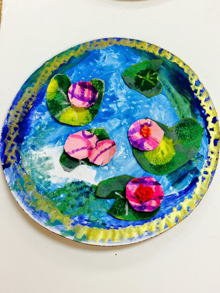 It is Art Day!: Monet's Pond
