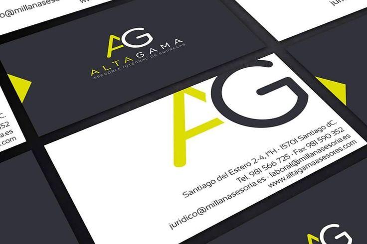 Aquí tenéis el trabajo de diseño que realizamos para las tarjetas de Alta Gama Asesores Que opináis?  #diseñoGalicia #galiciaDiseño #Yeti #galiciaCalidade #galicia #diseño #comunicacion #love #vedra #santiagoDC #trabajoBienHecho #imagenCorporativa #instagood #happy #swag #design #graphicDesign #amazing #bestOfTheDay #art #creatividad #creative #tarjetas #asesoria #altagama #empresa #integral #despacho #abogado