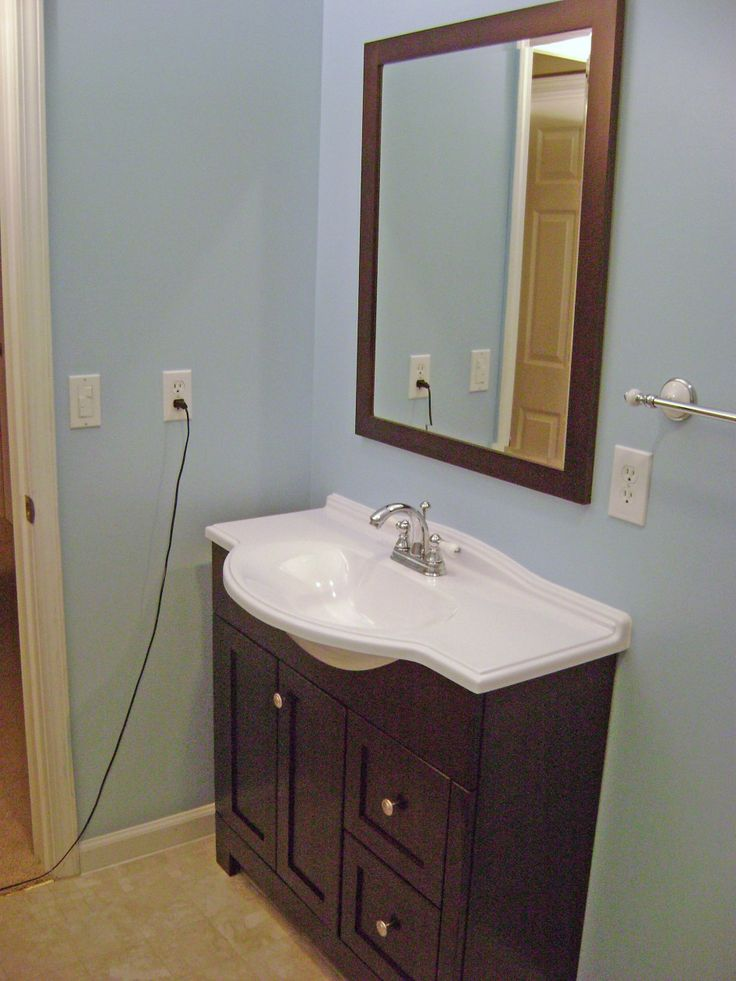 55 best new vanity ideas images on pinterest home ideas - Best vanities for small bathrooms ...