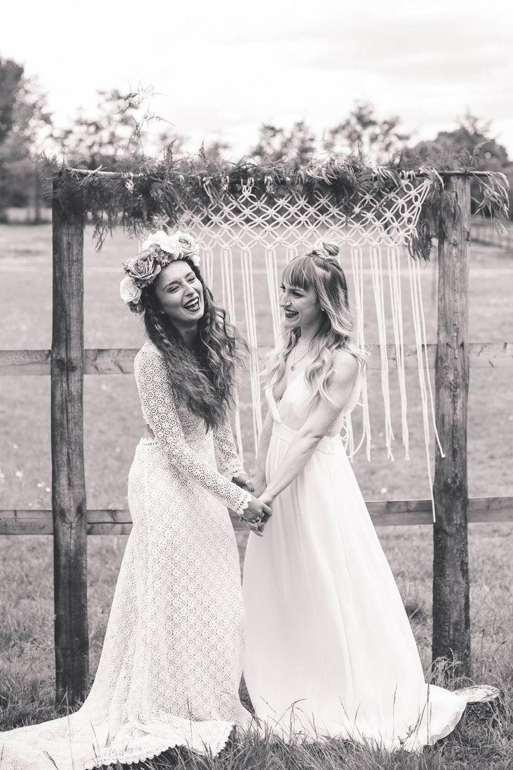 140 best Lesbian Wedding images on Pinterest | Bridal gowns ...