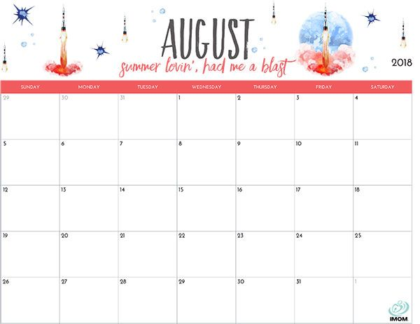 Fun Printable Calendars