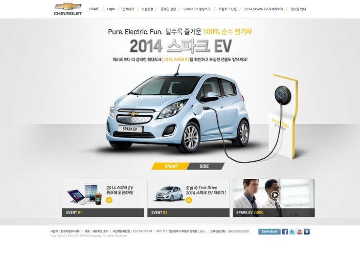 DCafeIn Website - 2014 Spark EV