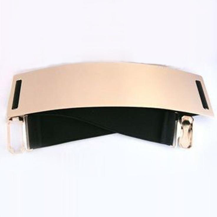 Langhem Gold Metallic Belt