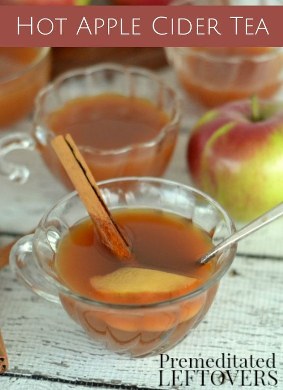 Make this Hot Apple Cider Tea recipe for a great delicious treat that ...