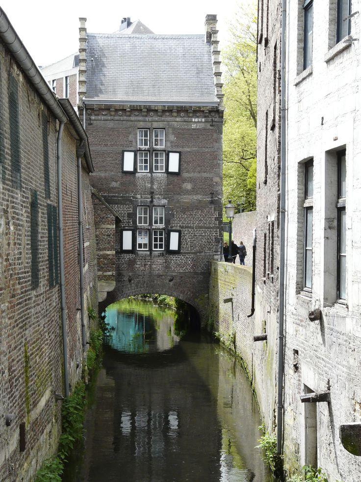 Huis op de Jeker, Maastricht, Zuid-Limburg.