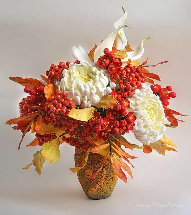 Лучшие работы : Букет Осенний вальс - Fito Art