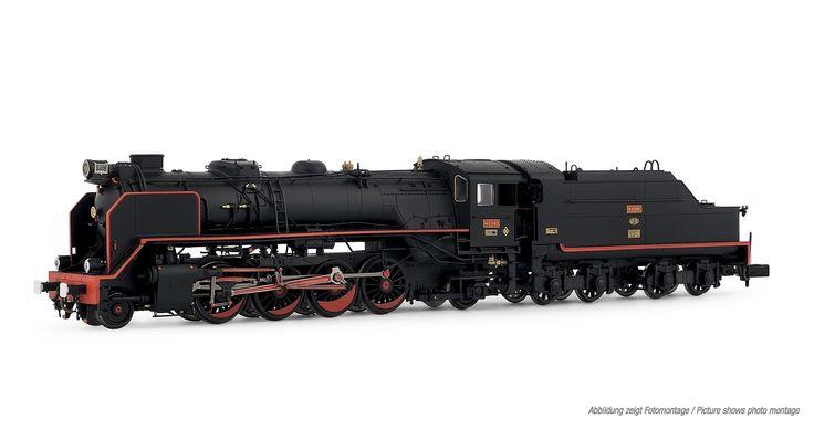 """Steam locomotive 141F-2413. """"Mikado"""""""