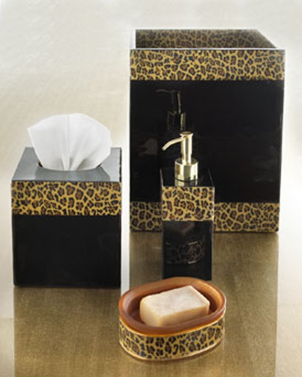 Best Leopard Bathroom Images On Pinterest Leopard Prints