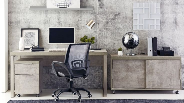 Block 3 Piece File Cabinet - Desks & Suites - Home Office - Furniture, Outdoor & BBQs | Harvey Norman Australia