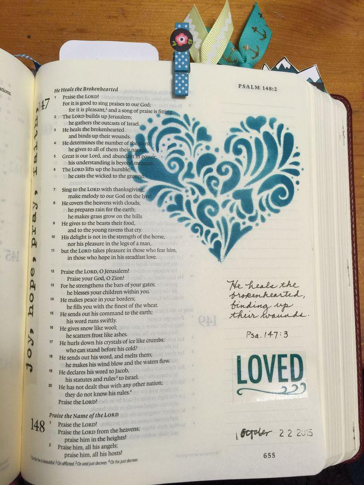 Bible art journaling by Lynda Neal #illustratedfaith