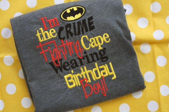 Hey, I found this really awesome Etsy listing at http://www.etsy.com/listing/153068983/batman-birthday-boy