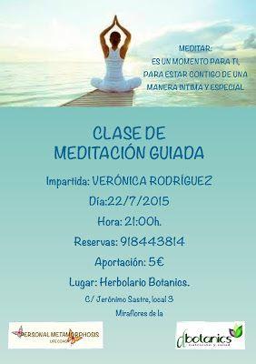 PERSONAL METAMORPHOSIS: PRÓXIMA MEDITACIÓN GUIADA