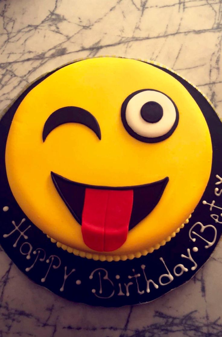 Emoji cake Www.facebook.com/tutzies