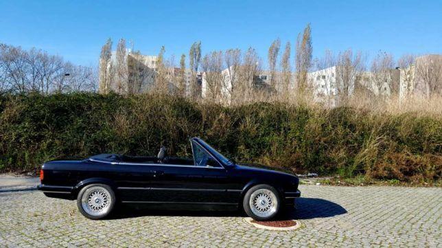 BMW E30 320i cabrio preços usados