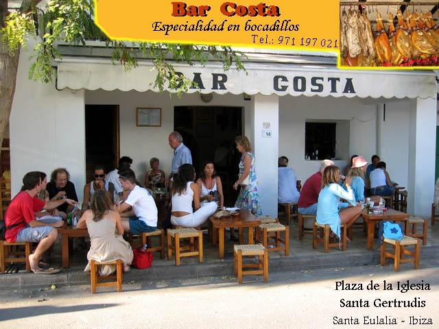Bar Costa, Santa Gertrudis, Eivissa