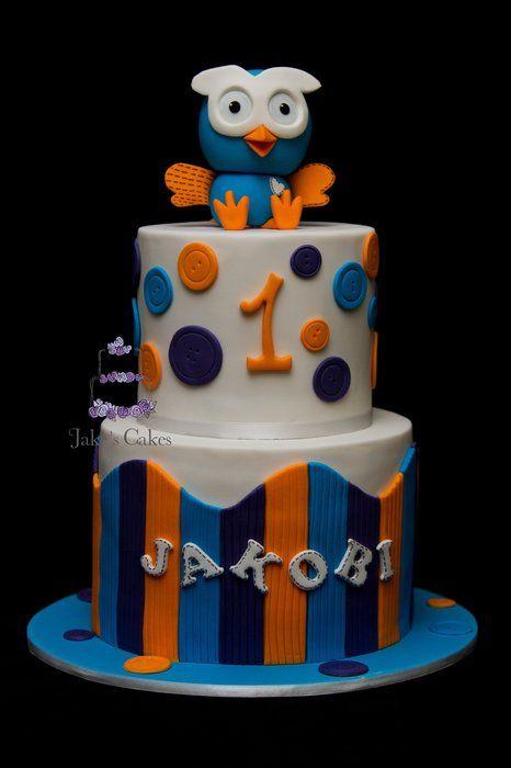 Hoot Cake - by Jakescakes @ CakesDecor.com - cake decorating website