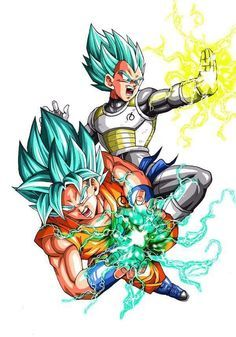 """Dragon Ball Super chapter 5 Spoilers: After tripping over his words and biting his tongue, Goku asks Vegeta if they can do something about the """"Super Saiyan God Super Saiyan"""" name. Having noted the blue hair earlier, Whis suggests the name """"Super Saiyan Blue"""" (超サイヤ人ブルー; sūpā saiya-jin burū) instead. Mid-chapter, while explaining how Goku and Vegeta defeated Frieza after his recent resurrection and attack on Earth, the narrator also refers to the form as """"Super Saiyan Blue"""". #SonGokuKakarot"""