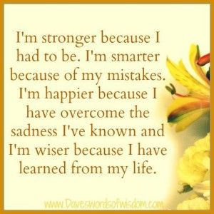 Maricel posted an update: I'm stronger because I had to be. I'm smarter because of […]