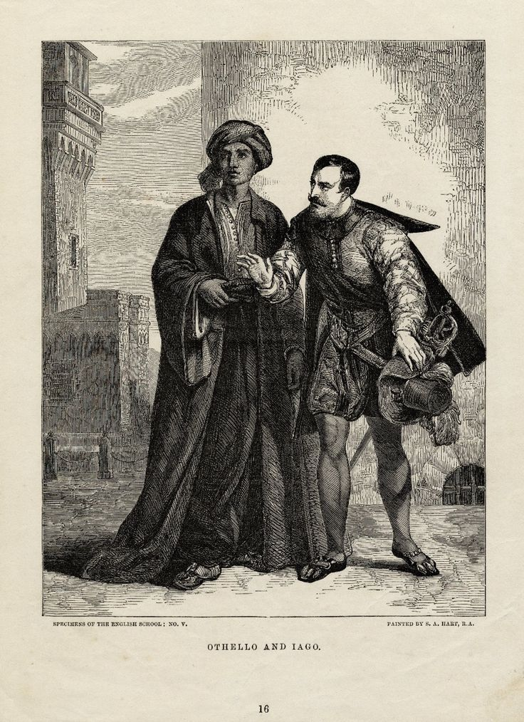 lagos deceit in william shakespeares othello Sometimes it's hard to keep track of what iago is up to during othello  by  william shakespeare  12 iago warns othello that desdemona's father is  coming.