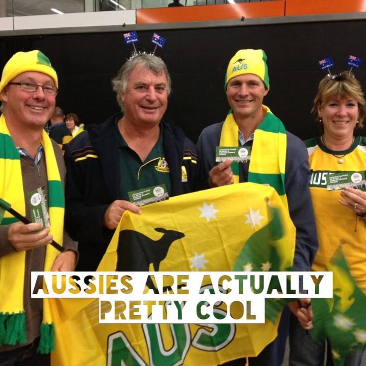 Aussie Supporters