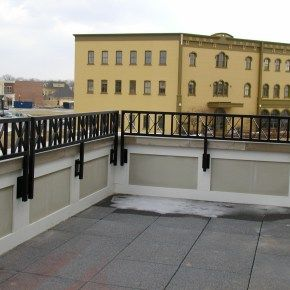 Best Commercial Railing Building House Styles Railing 400 x 300