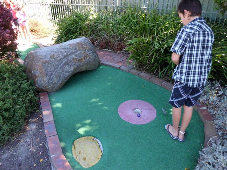 Come join us for a great time playing Mini Golf!