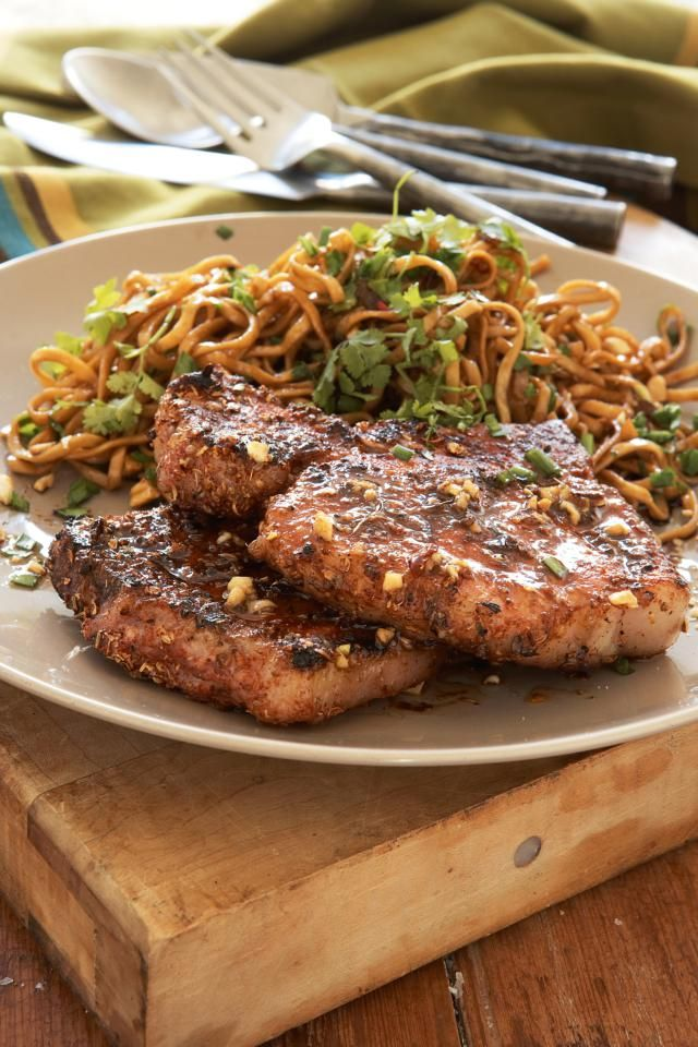 Grilled pork chops are delicious, but the marriage between the open flame and Indian-inspired spices takes this dish to another level.