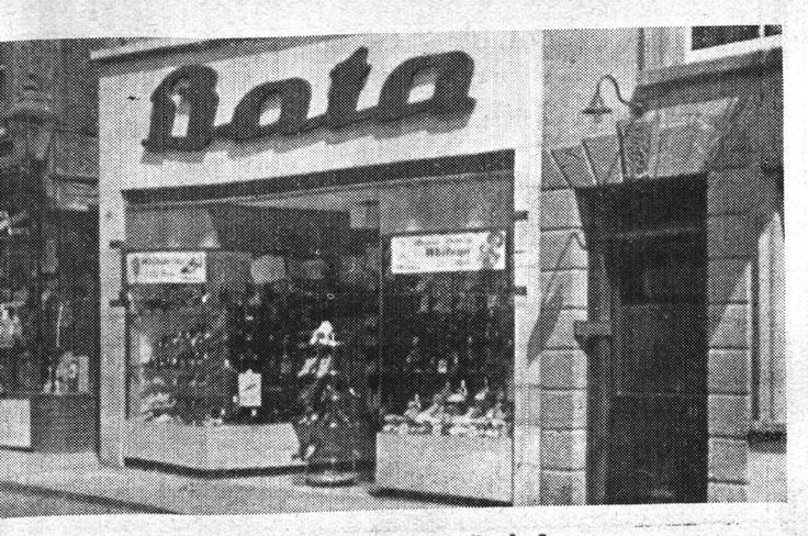 Bata Shoe Shop Bank Street Braintree Essex, opened June 1937, we are looking for better photos please contact BRRC or email web site