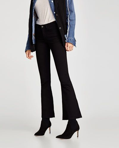JEANS THE SKINNY FLARE LIMITED EDITION-Flare-JEANS-MUJER   ZARA España