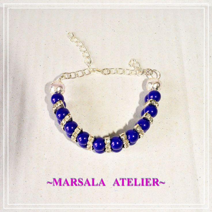 Blue Bee Bracelet