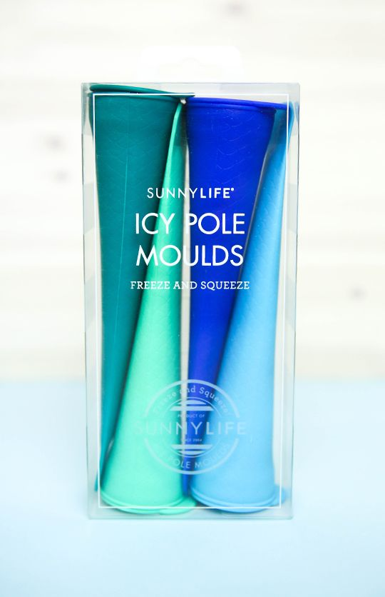 Sunnylife - Icy Pole Moulds - Blue/Green