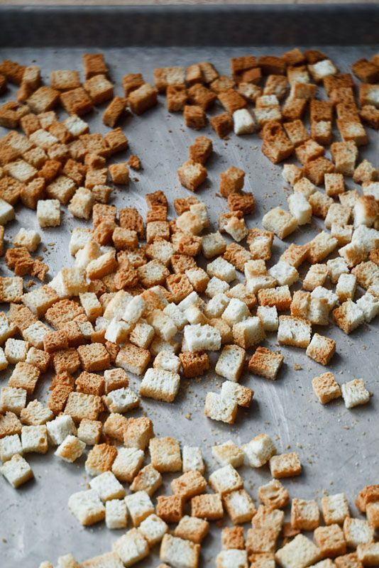 how to make herbed bread cubes