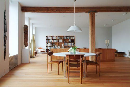 Mid-Century Modern: Mid Century Modern, Dining Rooms, Living Rooms, Expo Beams, Open Spaces, Mid Century Furniture, Modern Interiors, Danishes Modern, Midcentury