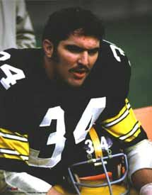 Andy Russell, former NFL star with the Pittsburgh Steelers. Andy is a frequent traveller with Backroads!