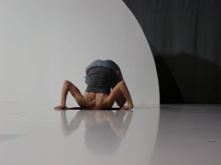 Java Dance Company. How Big is Blue? Commissioned by the Capital E National Arts Festival. Dancer Emma Johnston.