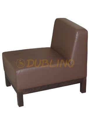 Dublino System/40/55 - Luongeová lavice na bukových nohách.